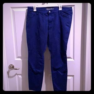 Old Navy True Blue Rockstar Skinny Jeans